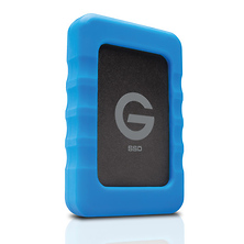 1TB G-DRIVE ev RaW USB 3.0 SSD with Rugged Bumper Image 0