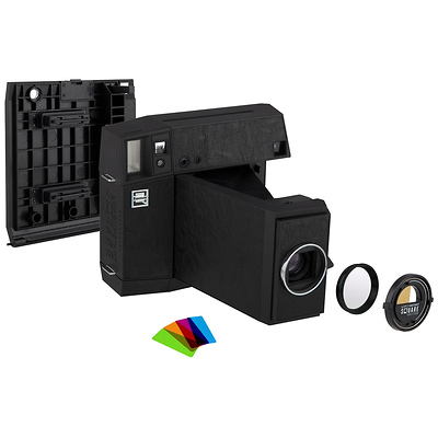 Lomo'Instant Square Glass Combo (Black Edition) Image 0