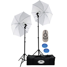700W Bi-Color LED Studio Light Kit Image 0