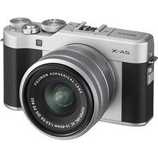 X-A5 Mirrorless Digital Camera with 15-45mm Lens (Silver) Image 0