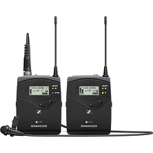 ew 112P G4 Camera-Mount Wireless Microphone System with ME 2-II Lavalier Mic A: (516 to 558 MHz) Image 0