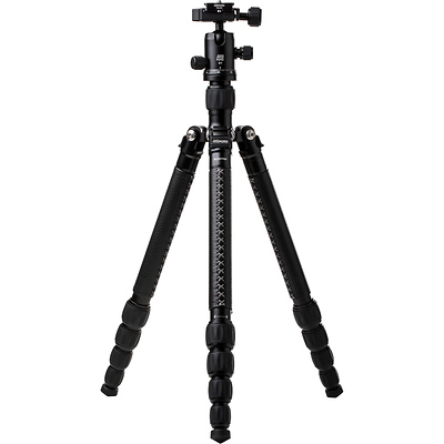 RoadTrip Classic Leather Edition Tripod (Aluminum, Black with Black Leather) Image 0