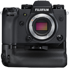 X-H1 Mirrorless Digital Camera Body (Black) with Power Grip Image 0