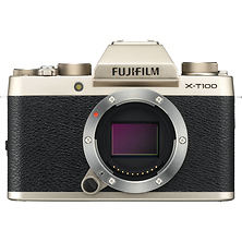 X-T100 Mirrorless Digital Camera Body (Champagne Gold) Image 0
