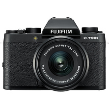X-T100 Mirrorless Digital Camera with 15-45mm Lens (Black) Image 0