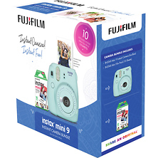 INSTAX Mini 9 Holiday Bundle (Ice Blue) Image 0