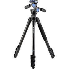 TAD28AHD2A Series 2 Adventure Aluminum Tripod with HD2A 3-Way Panhead Image 0