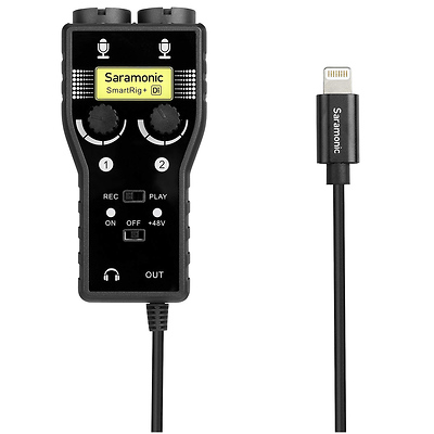 SmartRig+ Di Two-Channel Mic and Guitar Interface with Lightning Connector for iOS Devices Image 0