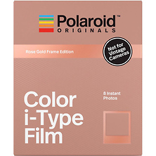 Color i-Type Instant Film (8 Exposures, Rose Gold Frame Edition) Image 0