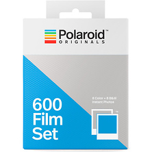 Color and Black & White 600 Instant Film Set (Double Pack, 16 Exposures) Image 0