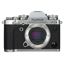 X-T3 Mirrorless Digital Camera Body (Silver) Image 0