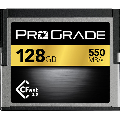 128GB CFast 2.0 Memory Card Image 0