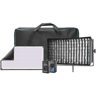 Flex Cine DMX RGBW LED Mat Single Light Fixture Kit (1 x 2 ft.) Image 0