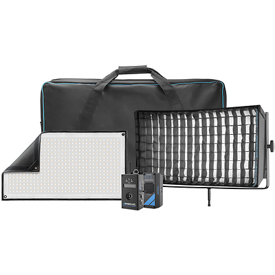 Flex Cine DMX Bi-Color LED Mat Single Light Fixture Kit (1 x 2 ft.) Image 0