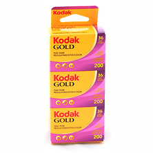 Gold 200 35mm Film 36EXP - 3 Pack Image 0