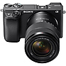 Alpha a6400 Mirrorless Digital Camera with 18-135mm Lens (Black) Thumbnail 2