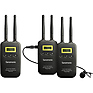 VmicLink5 RX+TX+TX Camera-Mount Digital Wireless Microphone System with Two Transmitters and Lavalier Mics (5.8 GHz)