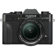 X-T30 Mirrorless Digital Camera with 18-55mm Lens (Black)