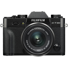 X-T30 Mirrorless Digital Camera with 15-45mm Lens (Black) Image 0