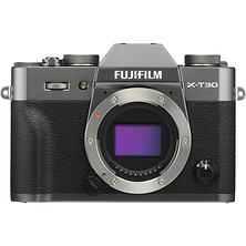 X-T30 Mirrorless Digital Camera Body (Charcoal Silver) Image 0