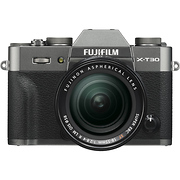 X-T30 Mirrorless Digital Camera with 18-55mm Lens (Charcoal Silver)