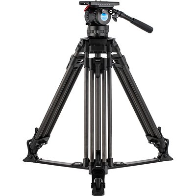 BVX Carbon Fiber Video Tripod Kit with BVX16H Head Image 0
