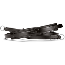 Vintage Leather Neck Strap (Black) Image 0