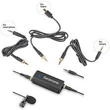 LavMic Audio Mixer with Lavalier Microphone Image 0