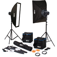 CINE-Flood 3000 2 Head Kit with Bowens Mount Image 0