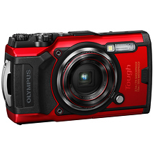 TG-6 Digital Camera (Red) Image 0