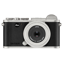 CL Mirrorless Digital Camera with 18mm Lens (100 Jahre Bauhaus Edition, Silver) Image 0
