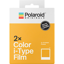 Color i-Type Instant Film (Double Pack, 16 Exposures) Image 0