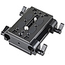 Tripod Mounting Kit with 2 x Plates and 2 x 15mm Rod Clamps