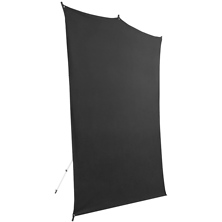 5 x 7 ft. Backdrop Travel Kit (Black) Image 0