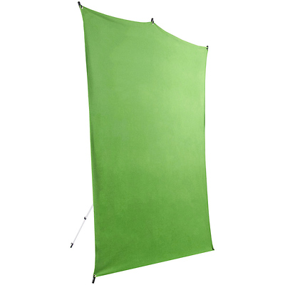 5 x 7 ft. Backdrop Extended Travel Kit (Chroma Green) Image 0