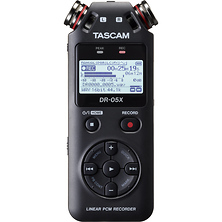 DR-05X 2-Input / 2-Track Portable Audio Recorder with Onboard Stereo Microphone Image 0