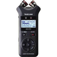 DR-07X 2-Input / 2-Track Portable Audio Recorder with Onboard Adjustable Stereo Microphone Image 0