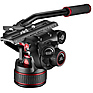 612 Nitrotech Fluid Video Head and Carbon Fiber Twin Leg Tripod with Middle Spreader Thumbnail 2