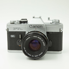 FTB Camera with 50mm f/1.8 FD Lens - Used Image 0