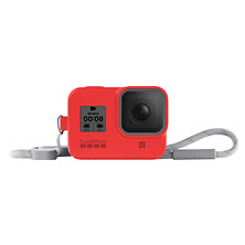 Sleeve with Lanyard for HERO8 Black (Firecracker Red) Image 0