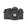 FM2N Camera with 50mm f/1.4 Lens (Black) - Used