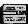 128GB Steel 2000x SDXC UHS-II Memory Card
