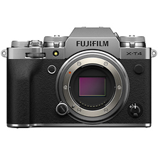 X-T4 Mirrorless Digital Camera Body (Silver) Image 0