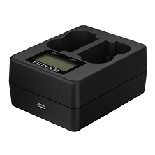 Twin Battery Charger for NP-W235 Rechargeable Battery Image 0