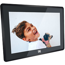 10 in. Digital Picture Frame with Wi-Fi and Multi-Touch Display (Matte Black) Image 0