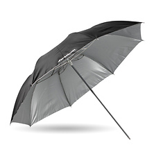 43in. Soft Silver Collapsible Umbrella Image 0