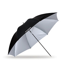 32in. Soft Silver Umbrella Image 0