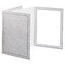 8 x 10 Picture Folder Frame - Gray (10 Pack)