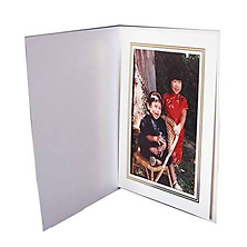 White Photo Folder 8x10 Image 0