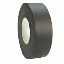 T2100 Pro Gaffers Tape 2in x 30yds - Black, Small Roll Image 0